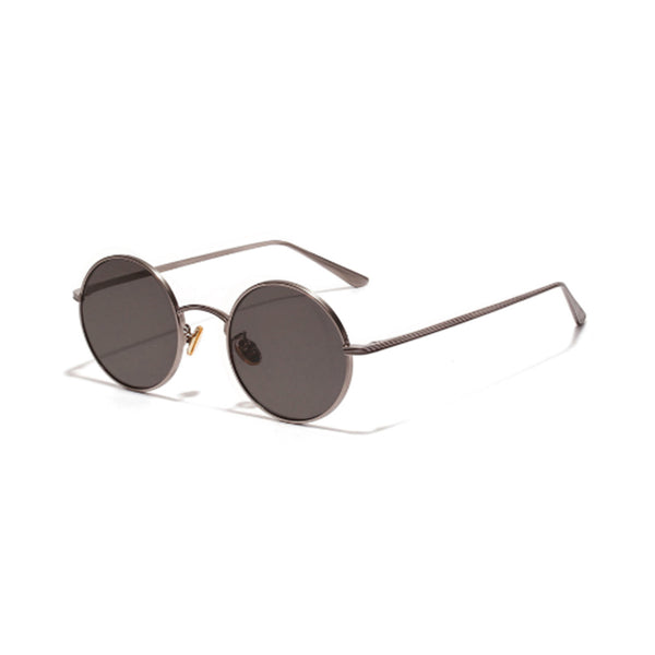 N017 Black Round Sunglasses