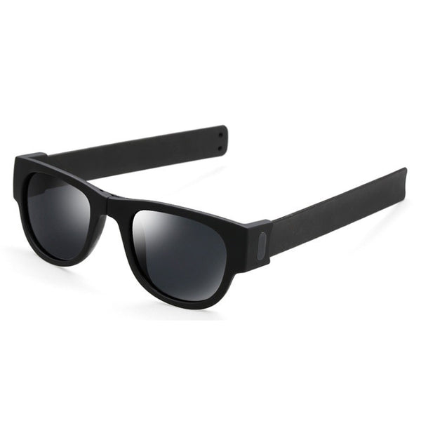 M019 Black Foldable Sunglasses
