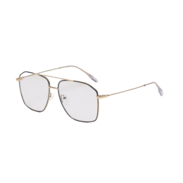 Z005 Gold Square Anti Blue Light Glasses