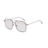 Z006 Silver Square Anti Blue Light Glasses