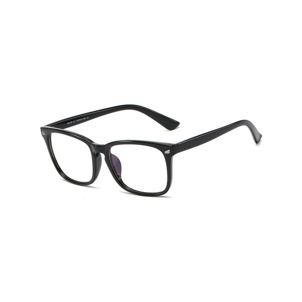 BK013 Black Anti Blue Light Kids Glasses