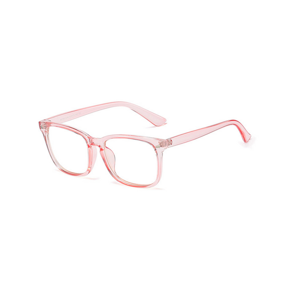 BK015 Pink Anti Blue Light Kids Glasses