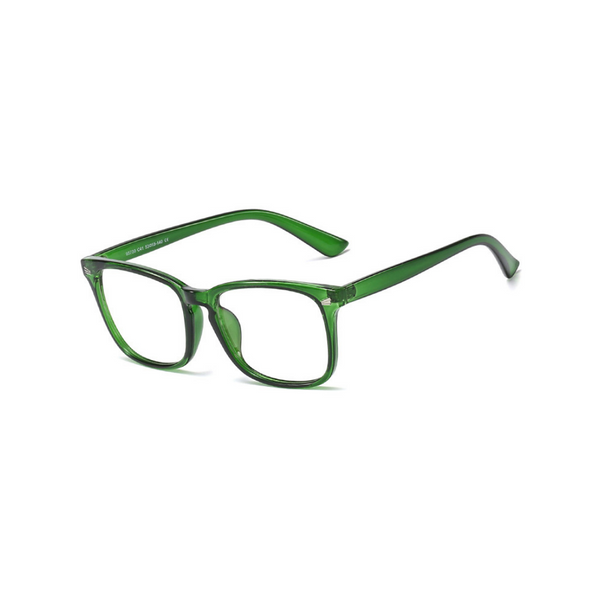 BK016 Green Anti Blue Light Kids Glasses