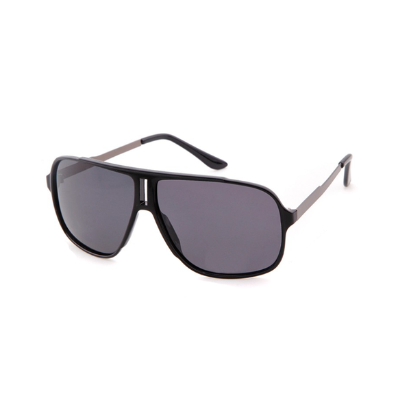 M015 Black Square Sunglasses