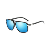 M016 Blue Square Sunglasses