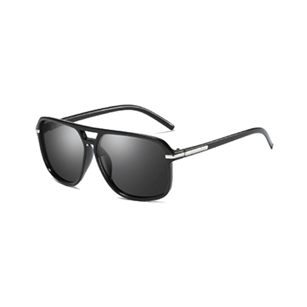 M017 Black Square Sunglasses