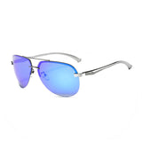 M001 Blue Polarized Aviator Sunglasses