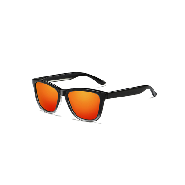 N026 Polarized Red Square Sunglasses