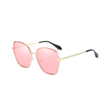 N052 Polarized Pink Square Sunglasses