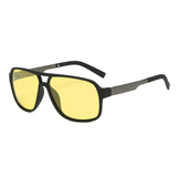 N062 Polarized Night Square Sunglasses