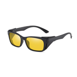 N064 Polarized Night Rectangular Sunglasses
