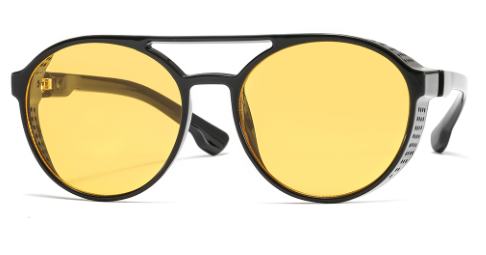 a4941a3fc0 R030 Yellow Round Sunglasses – Alora Collection