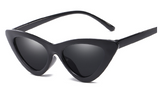 R045 Black Retro Sunglasses