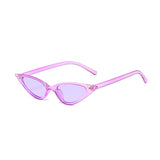R048 Purple Cat Eye Sunglasses