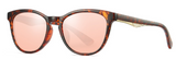 R004 Rose Gold Oval Sunglasses