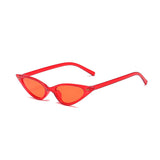 R050 Red Cat Eye Sunglasses