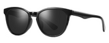 R005 Black Oval Sunglasses