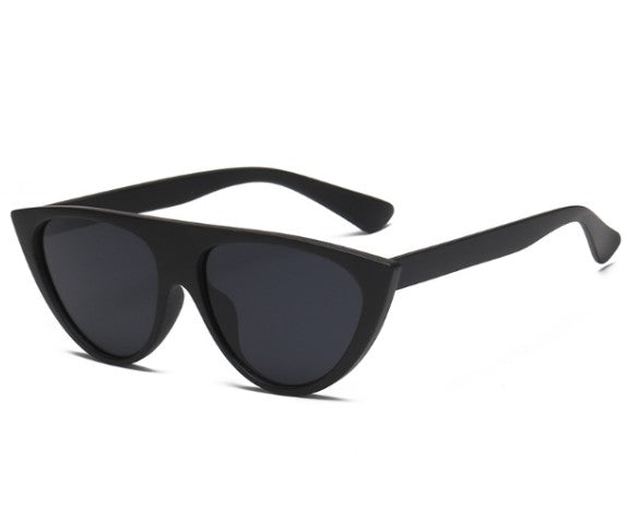 W060 Black Cat Eye Sunglasses