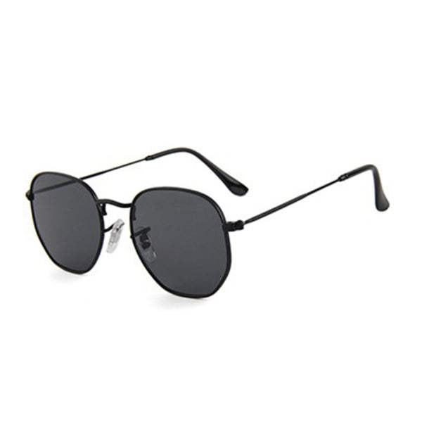 U026 Black Hexa Sunglasses