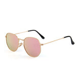 U027 Gold Hexa Sunglasses