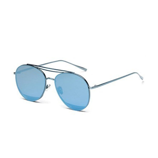 U003 Blue Aviator Sunglasses