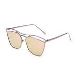 C060 Polarized Pink Retro Sunglasses