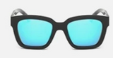 U052 Square Blue Sunglasses