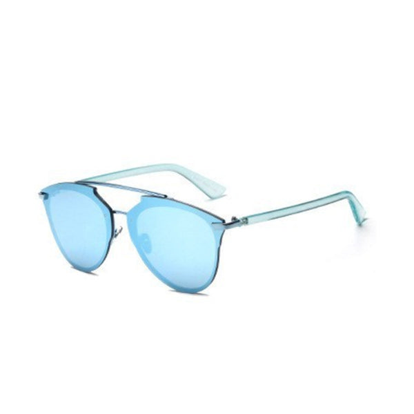 C042 Blue Cat Eye Sunglasses
