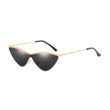 W039 Black Cat Eye Sunglasses