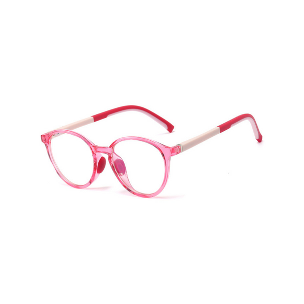 BK010 Red Anti Blue Light Kids Glasses