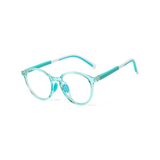 BK011 Green Anti Blue Light Kids Glasses