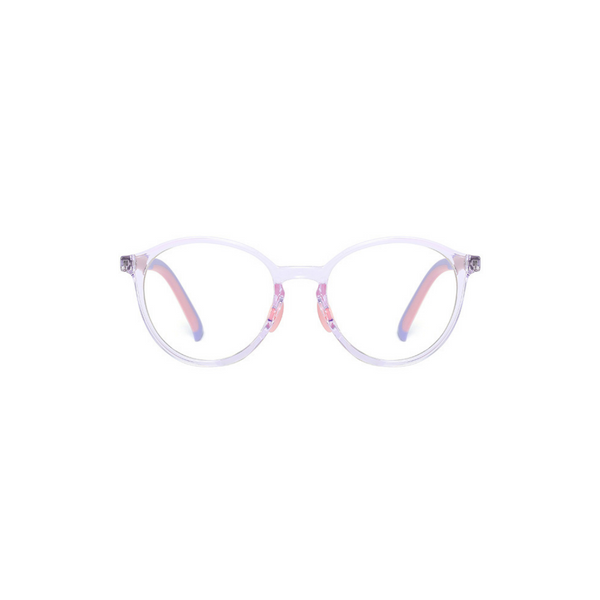 BK012 Purple Anti Blue Light Kids Glasses