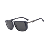 N039 Polarized Black Square Sunglasses