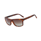 N045 Polarized Brown Rectangular Sunglasses