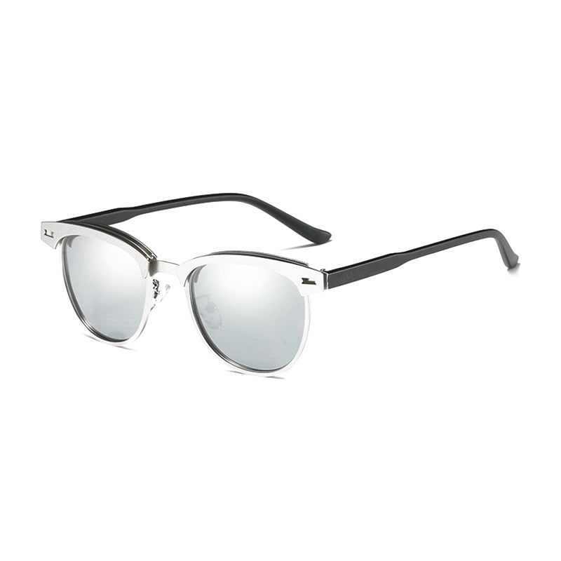 594c22c73d U023 Silver Clubmaster Sunglasses – Alora Collection