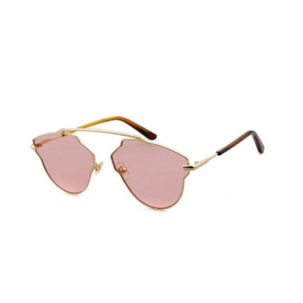 C055 Pink Cat Eye Sunglasses