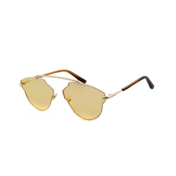 C056 Yellow Cat Eye Sunglasses