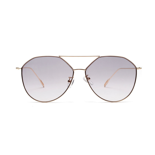 U059 Grey Aviator Sunglasses