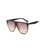 W056 Brown Square Sunglasses