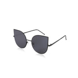 W027 Black Cat Eye Sunglasses