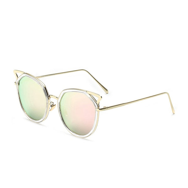 C020 Pink Cat Eye Sunglasses