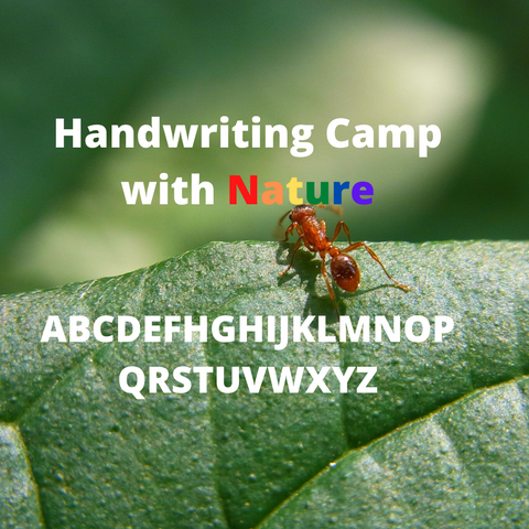 Handwriting Camps - Spring/Summer