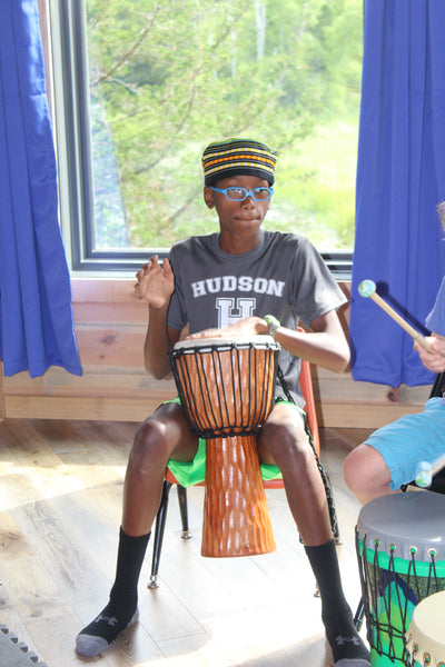 Rainbow Drumming Camp & Small Group Drumming