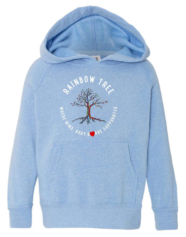 Child & Adult Blue Hoodie