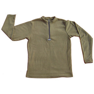 Polartec® Recycled Microfleece Kids/Jr. ZIP SPORT SHIRT