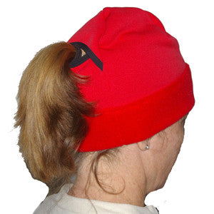 Powerstretch® Recycled Ponytail Jr./Adult SKULL CAP