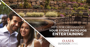 Tips For Organizing Your Stone Patio For Entertaining