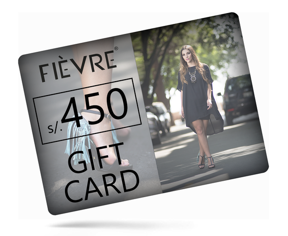 GIFT CARD S/.450