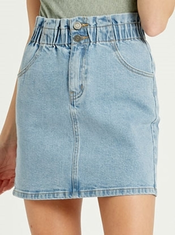 Take The Floor Denim Skirt