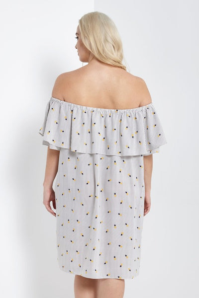 Take Me To Paradise Dress - Pineapple